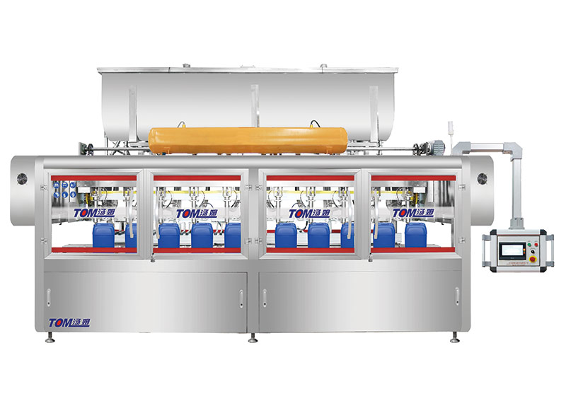 DGP-CZ-8Z Automatic weighing type filling machine (Suitable for Square barrel)