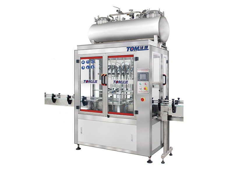Mode DGP-C computer controlled liquid filling machine
