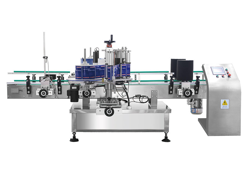 TBJ-630PX self-adhesive front and back labeling machine