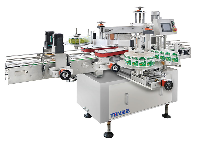 TBJ-920A self-adhesive front and back labeling machine