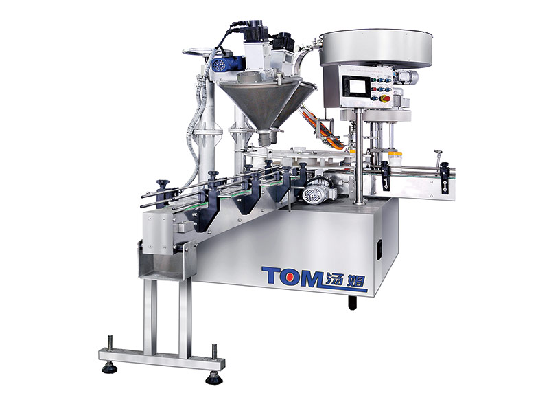 FJ-12BP fully powder packaging machine for bottles
