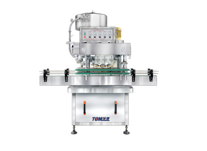FXZ automatic inline cap tightening machine1