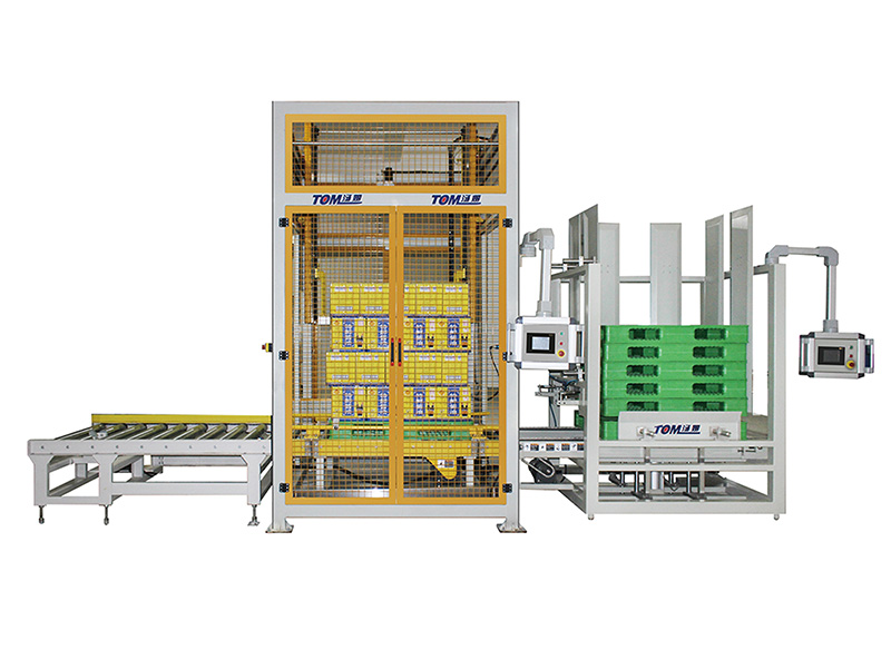 Automatic mechanical stacking palletizer