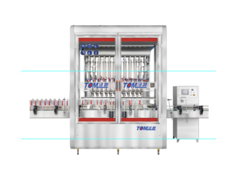 DGP-GL series electric induction in-line measuring cup  filling machine