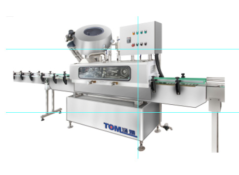 XG-ZK-Z fully automatic inline vacuum capping machine