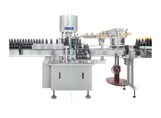 Model YG-6B fully automatic chuck capping machine