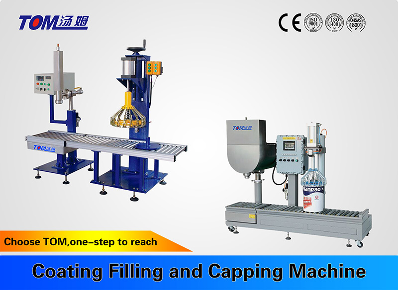 Coating Filling and Capping Machine